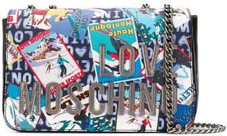 Love Moschino ski print crossbody