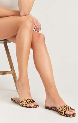 f845b44440 Show Me Your Mumu Steve Madden ~ Bev Sandals ~ Leopard