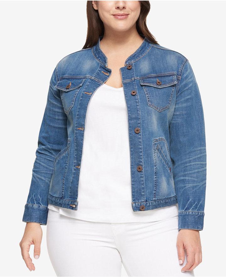 Tommy HilfigerTommy Hilfiger Plus Size Denim Jacket