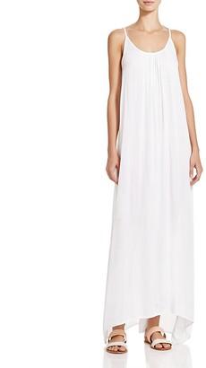 Boho Me Handkerchief Hem Maxi Dress Swim Cover-Up $79 thestylecure.com