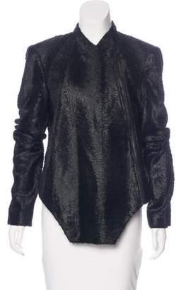 Kimberly Ovitz Textured Asymmetrical Jacket