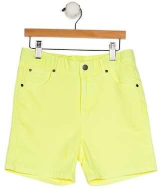 Stella McCartney Girls' Knee-Length Denim Shorts