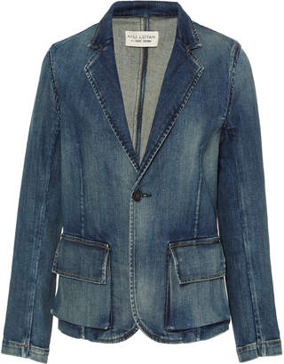 Nili Lotan Addison Denim Blazer