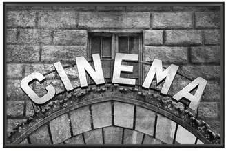 Pottery Barn Vintage Movie Framed Print - Cinema