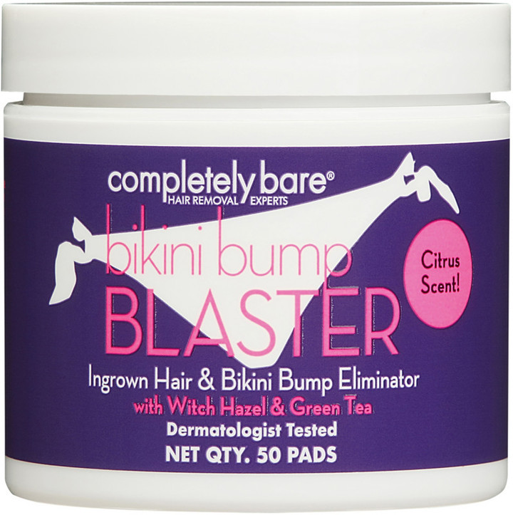 Completely Bare Bikini Bump Blaster Ingrown Hair and Bikini Bump Eliminator