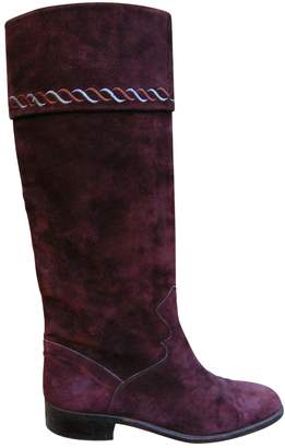Fratelli Rossetti Burgundy Suede Boots