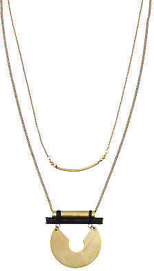 Holiday NEW Womens Necklaces Hancock Necklace Size OneSize Gold