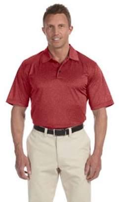 adidas Men's climalite Heather Polo - RED VELVET HTHR - XL A163