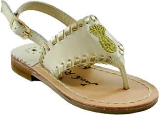 Jack Rogers Girls' Little Miss Pineapple Sandal