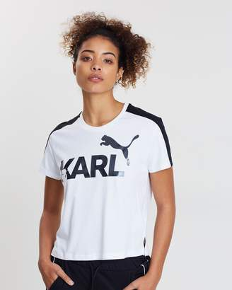 Puma X Karl Crop Tee