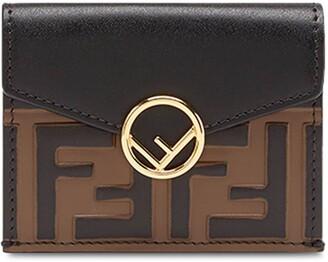 Fendi FF micro trifold wallet
