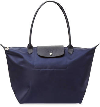 Longchamp Women's Le Pliage Néo Long Handle Large Nylon Tote