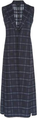 Akris Henry Cotton-Silk Blend Denim Gilet Jacket