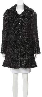 Chanel Metallic Fantasy Tweed Coat