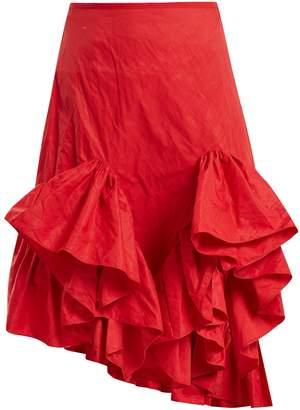 Marques Almeida MARQUES'ALMEIDA Melted-frill ruffle skirt