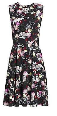 Erdem Women's Dylanne Sleeveless Floral Fit-&-Flare