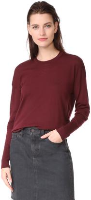 Belstaff Sarah Superfine Merino Wool Sweater $375 thestylecure.com