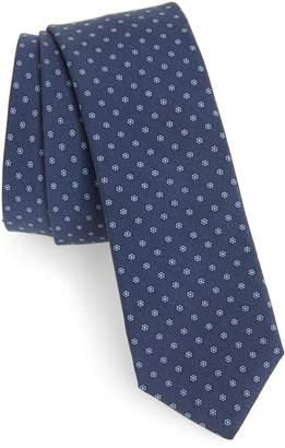 Eleventy Neat Silk Tie