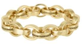 Laundry by Shelli Segal Goldtone Stretch Link Bracelet