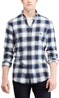 Chaps Big & Tall Regular-Fit Performance Flannel Button-Down Shirt