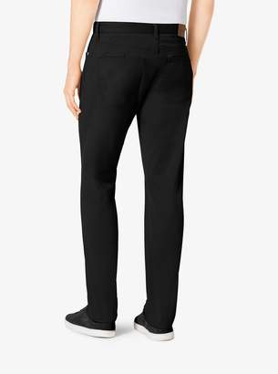 Michael Kors Tailored/Classic-Fit Stretch-Twill Five-Pocket Pants