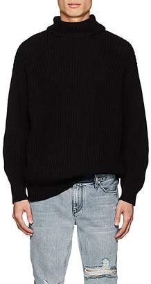 RtA Men's Chunky Rib-Knit Cotton Sweater