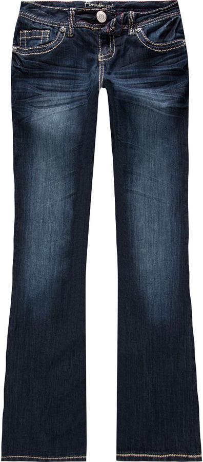 AMETHYST JEANS Rhinestone Pocket Womens Bootcut Jeans