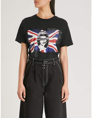 Boy London The Sex Pistols-print cotton-jersey T-shirt
