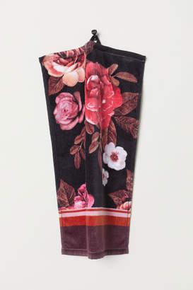 H&M 2-pack Cotton Guest Towels - Black