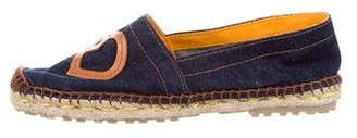 DSQUARED2 Denim Espadrille Flats