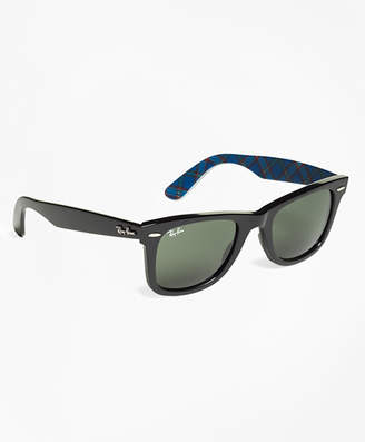 Brooks Brothers Ray-Ban Wayfarer Sunglasses with Tartan