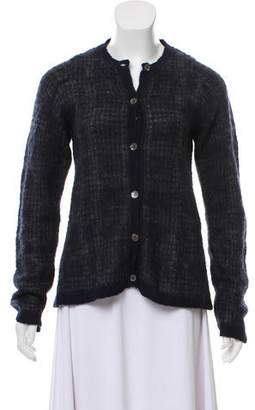 Marni Mohair Button-Up Cardigan