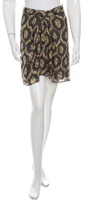 Isabel Marant Printed Mini Skirt w/ Tags