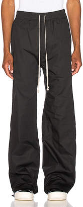 Rick Owens Easy Pusher Pant in Black | FWRD