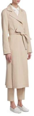 Akris Teri Gabardine Trench Coat