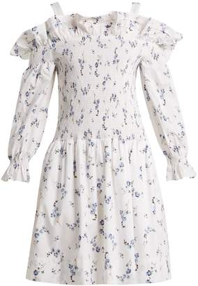 Rebecca Taylor Francine off-the-shoulder floral-print dress