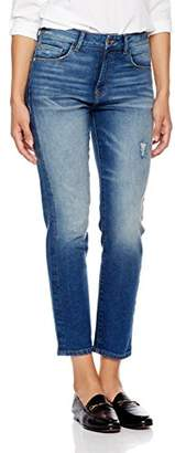 Monroe Madison Denim Women's Slim Straight Jean Retro Look