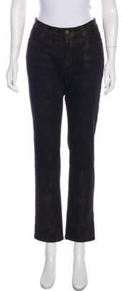 Lafayette 148 Mid-Rise Straight-Leg Jeans