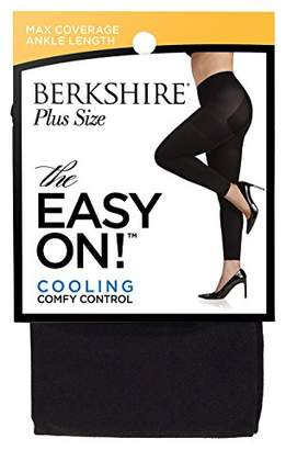 Berkshire Women's Plus Size the Easy on Footless Max Coverage Tights