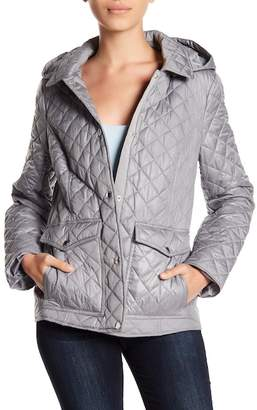 Laundry by Shelli Segal Barn Quilt Hooded Jacket