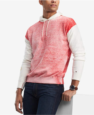 Tommy Hilfiger Men's Color Block Hoodie, Created for Macy's
