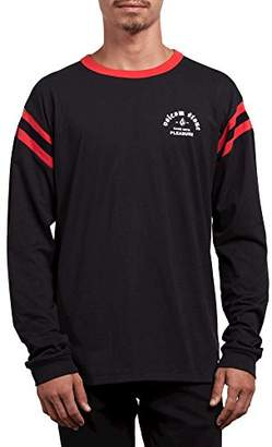 Volcom Men's Wagners Knit Crew Long Sleeve Vintage Inspired Shirt