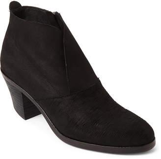 Eileen Fisher Black Murphy Nubuck Ankle Booties