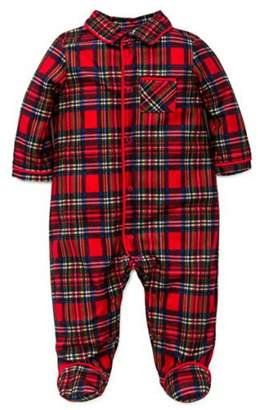 Little Me Baby Boy's Holiday Pajama Footie