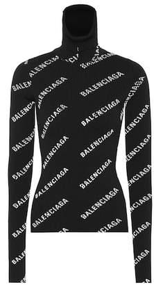 Balenciaga Logo-printed sweater