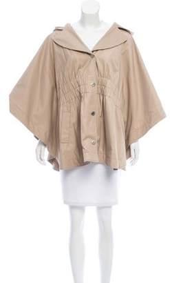 Betsey Johnson Hooded Short Coat
