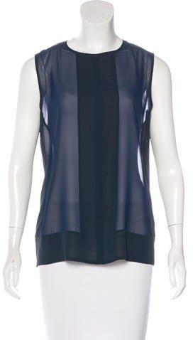 J BrandJ Brand Sleeveless Colorblock Top
