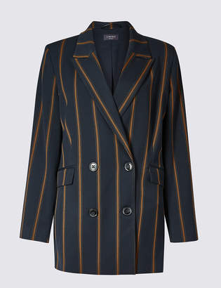 Limited Edition Striped Double Breasted Blazer