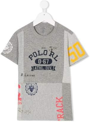 Ralph Lauren pieced together print T-shirt