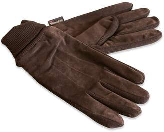 Quivano Men's Suede Leather Thermal Gloves # 321-200